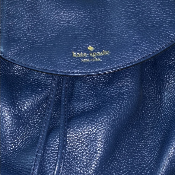 Kate Spade small backpack in blue